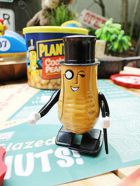 このブッサイクな感じがたまんない♪ミスターピーナッツのトコトコ人形 ■ アメリカ雑貨 アメリカン雑貨 こだわり派が夢中になる! 人気のアメリカ雑貨屋