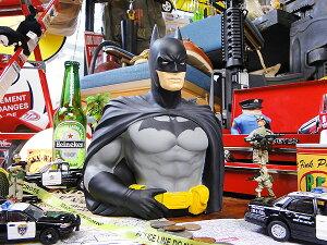 バットマンのバストバンク ■ こだわり派が夢中になる! 人気のアメリカ雑貨屋 アメリカ 雑貨 アメリカン雑貨 貯金箱 おしゃれ インテリア インテリア 雑貨 生活雑貨 おもしろ かわいい 置物