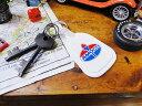 アメリカンな見た目に惹かれたらぜひ! アモコのアドバタイジングキーリング ■ アメリカ雑貨 アメリカン雑貨 アメリ…