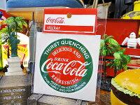 コカ・コーラブランドアドバタイジングステッカー(BA1)★コカコーラグッズ雑貨グッズブランドCoca-Colaアメリカ雑貨アメリカン雑貨