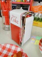 コカ・コーラブランドナプキンディスペンサー★コカコーラグッズ雑貨グッズブランドCoca-Colaアメリカ雑貨アメリカン雑貨