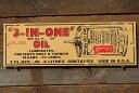 アメリカンガレージのミニウッドサイン(3-IN-ONEオイル) ■ アメリカ雑貨 アメリカン雑貨 壁掛け 壁飾り インテリア…