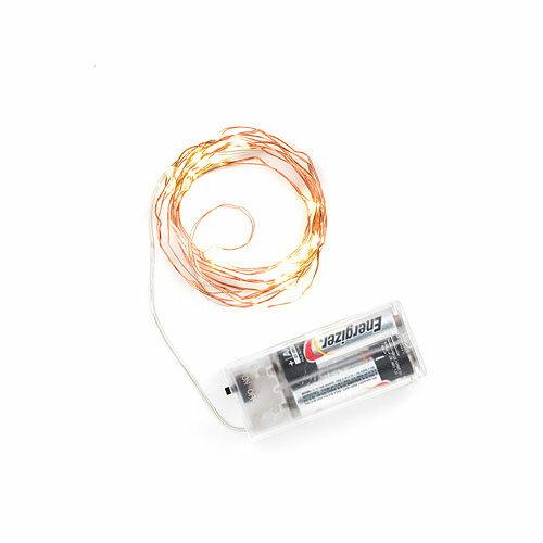 ストリングライトコッパーLED20灯■飾りディスプレイアメリカ雑貨アメリカン雑貨照明おしゃれコンセント