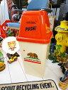 カリフォルニア州旗のダストビン 20Lサイズ ■ ゴミ箱 アメリカ雑貨 ダストボックス アメリカン雑貨 ダストBOX