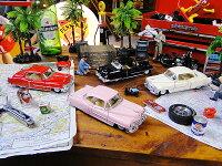 1953年キャデラック・シリーズ62クーペのダイキャストミニカー1/43スケール4台セット★アメリカ雑貨★アメリカン雑貨★アメ雑貨★アメ雑アメリカン雑貨通販