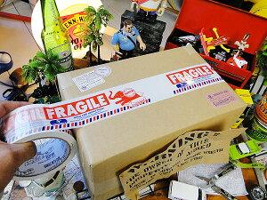 ダルトン フラジール・パッキングテープ(エレファント) ■ アメリカ雑貨 アメリカン雑貨 dulton パッキングテープ おしゃれ FRAGILE 人気 ブランド かわいい 通販 梱包 テープ