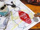 コカ・コーラブランド モーテルキーリング ■ こだわり派が夢中になるアメリカ雑貨屋 コカコーラグッズ 雑貨 グッズ …