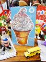 アメリカの可愛いバースデーカード(ソフトクリーム) ■ アメリカ雑貨 アメリカン雑貨