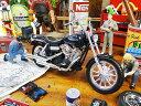 2006年ハーレーダビッドソン ダイナ・ストリートボブ FXDBIのモデルカー 1/12スケール ■ アメリカ雑貨 アメリカン雑…