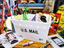 アメリカらしいヘヴィーデューティー感がウリ! U.S.ミニポストボックス(U.S. メール/ブラック) ■ アメリカ雑貨 アメリカン雑貨 おもちゃ 収納 アメリ...