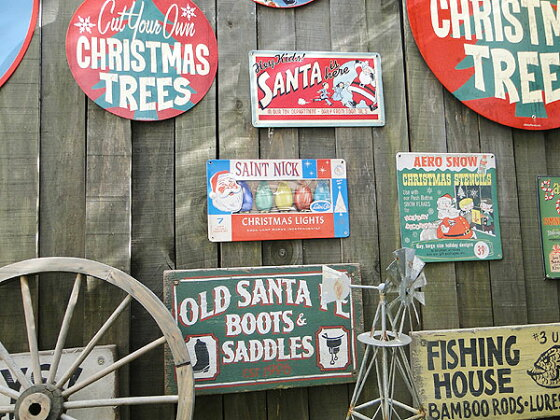 クリスマスのU.S.ヘヴィースチールサイン(クリスマスライト)★サインプレートブリキアメリカ看板ティンサインサインボードアメリカンブリキ看板アメリカ雑貨アメリカン雑貨