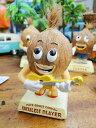 ついニヤリとさせてくれる癒し系♪ココナッツブラザーズのボビングドール(ウクレレプレイヤー) ■ ハワイ 雑貨 ハワ…