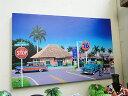 ハワイアン・キャンバスアート(ノースショア) ■ ハワイ 雑貨 ハワイアン雑貨 ハワイ雑貨 アメリカ雑貨 アメリカン…