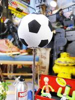 サッカーボールのアンテナトッパー★カーアクセサリー★アメリカ雑貨★アメリカン雑貨