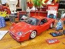 ホットウィール フェラーリ F512Mのダイキャストモデルカー 1/24スケール ■ アメリカ雑貨 アメリカン雑貨