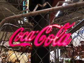 コカ・コーラブランド LEDミニレタリングサイン(Sサイズ) ■ コカコーラグッズ 雑貨 グッズ ブランド Coca-Cola アメリカ雑貨 アメリカン雑貨 コーラ インテリア 壁面装飾 装飾 飾り ディスプレイ 内装 ウォールデコレーション