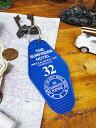 無造作に置いても絵になる♪ ハワイアン・モーテルキータグ(ブルー) ■ ハワイ雑貨 アメリカ雑貨 アメリカン雑貨 キ…