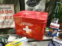 あえて目立つ所に置いておきたい♪ファーマシーボックス 救急箱 ■ アメリカ雑貨 アメリカン雑貨 小物入れ おしゃれ …