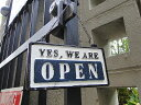 ダルトン オープン&クローズのアイアン製ハンギングサイン ■ アメリカ雑貨 アメリカン雑貨 サインプレート アンティ…