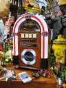 【全国送料無料】 オールディーズ ジュークボックスCDプレーヤー ロンドン(iPhone/iPod/スマホ各種対応) ■ 楽天1位 アメリカン雑貨 アメリカ雑貨