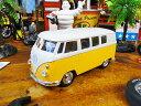 1963 ワーゲンバスのミニカー(イエロー) ■ ミニカー アメ車 アメリカ雑貨 アメリカン雑貨 アメリカ 雑貨 インテリ…
