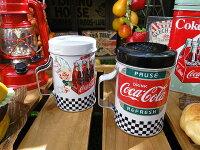 コカ・コーラブランドS&Pボトルシェイカー2個セット■アメリカ雑貨アメリカン雑貨