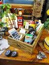 ダルトン アンティークコレクション・ウッデンボックス(6仕切り/ドッグロゴ) ■ アンティーク風木箱 木箱 小箱 小物…