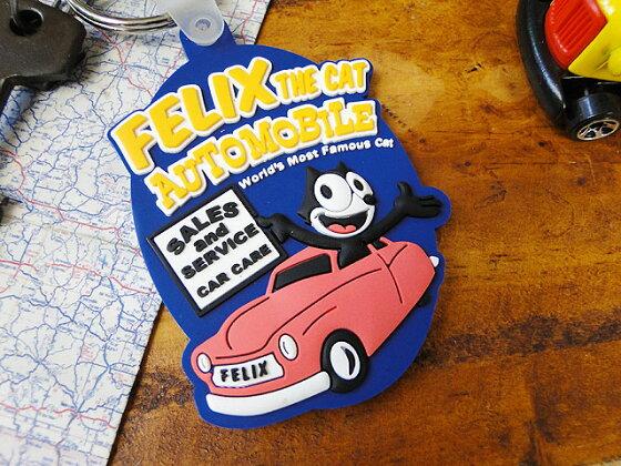 フィリックスのラバーキーリング(オートモービル)■アメリカ雑貨アメリカン雑貨