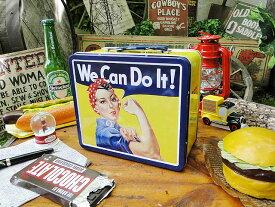 We can do itのランチボックス ■ アメリカ雑貨 アメリカン雑貨