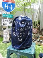 ミリタリーパーソナルバッグ(デニム)■アメリカ雑貨アメリカン雑貨