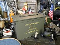 USタイプアンモボックス(Mサイズ)■アメリカ雑貨アメリカン雑貨