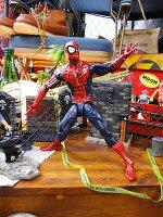 ハズブロマーベル・コミックレジェンドシリーズ#01スパイダーマンの12インチアクションフィギュア■アメリカン雑貨アメキャラアメコミ