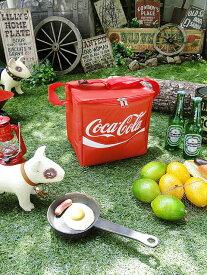 コカ・コーラブランド カンクーラーバッグ ■ アメリカ雑貨 アメリカン雑貨 アウトドア レジャー 海水浴 簡易クーラーボックス ピクニック おしゃれ 人気 保冷 グッズ