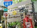 ガス缶のウォールバー 3連フックタイプ ■ アメリカ雑貨 アメリカン雑貨 カントリー雑貨 壁掛け 壁付け 木製 カギ掛け インテリア雑貨 生活雑貨 こだわり派が...