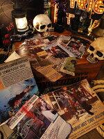 ゾンビニューズ記事のスクラップブック■ハロウィングッズ雑貨飾りディスプレイハロウィーンパーティー装飾オーナメントルームデコレーションアメリカ雑貨アメリカン雑貨