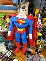スーパーマンのぬいぐるみ■アメリカ雑貨アメリカン雑貨アメリカ雑貨インテリア