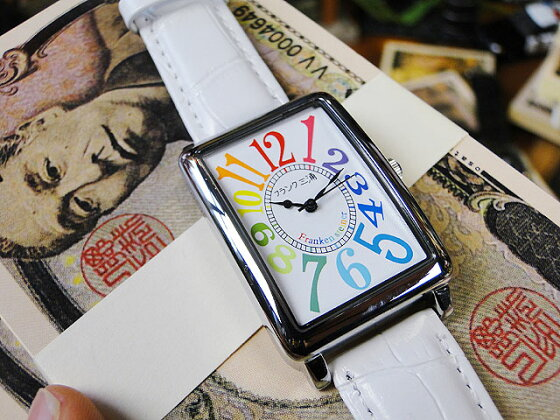 3e1fed0849 楽天市場】天才時計師フランク三浦の腕時計 初号機(改)通常サイズ ...