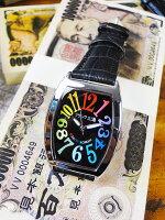 天才時計師フランク三浦の腕時計零号機(改)通常サイズ(レインボーブラック)■アメリカ雑貨アメリカン雑貨おもしろ雑貨おもしろグッズ人気おしゃれ腕時計メンズ黒通販ウォッチ