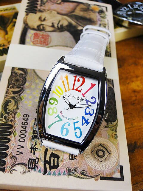9d7bea0052 楽天市場】天才時計師フランク三浦の腕時計 零号機(改)通常サイズ ...