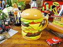 ハンバーガーマグカップ ■ アメリカ雑貨 アメリカン雑貨