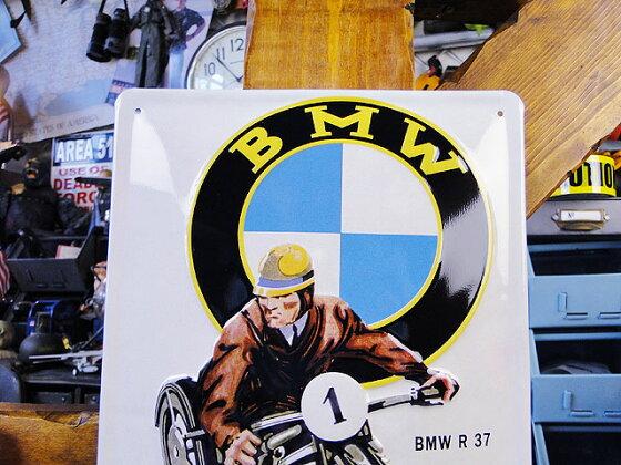 世界のオートバイの3Dメタルサイン(BMWR37)■サインプレートブリキアメリカ看板ティンサインサインボードアメリカンブリキ看板アメリカ雑貨アメリカン雑貨おしゃれ壁面装飾装飾ディスプレイ内装人気ウォールデコレーション