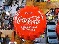 コカ・コーラブランドボトルキャップサイン■コカコーラグッズ雑貨グッズブランドCoca-Colaアメリカ雑貨アメリカン雑貨壁面装飾装飾飾りディスプレイ内装人気ウォールデコレーションコーラこだわり派が夢中になる!人気のアメリカ雑貨屋