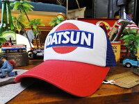 ダットサンのメッシュキャップ(トリコロール)■アメリカ雑貨アメリカン雑貨