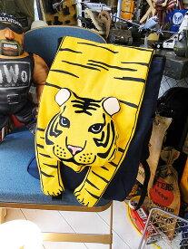 タイガーリュック(イエロー) ■ アメリカ雑貨 アメリカン雑貨 アメカジ 鞄 メンズ バッグ おしゃれ