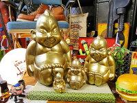 大阪名物ビリケンさんの縁起のええ置物(4体セット)■アメリカン雑貨アメリカ雑貨大阪土産