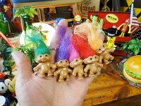トロール人形キーリング(5色セット)■アメリカ雑貨アメリカン雑貨