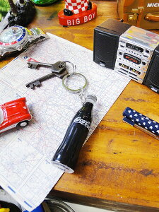 コカ・コーラブランド コンツアーボトルのプロジェクターキーホルダー ■ アメリカ雑貨 アメリカン雑貨 インテリア 人気 アメリカ 雑貨 キーホルダー おしゃれ メンズ キーリング 鍵 人気