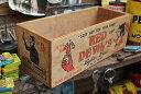 """ガレージ雑貨好き必見!コレが""""漢""""のウッドボックスだ!!アメリカンガレージウッドボックス 内仕切り板2枚付属(…"""
