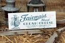 チーズボックスのミニウッドサイン(スミスフィールドB) ■ アメリカ雑貨 アメリカン雑貨 サインプレート 壁面装飾 …