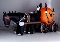 超ド級のメガサイズハロウィンゴーストキャリッジのエアーディスプレイ■ハロウィングッズ雑貨飾りディスプレイハロウィーンパーティー装飾オーナメントルームデコレーションアメリカ雑貨アメリカン雑貨お化け屋敷グッズ装飾肝試し